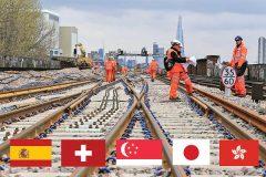 تمرکز آینده صنعت ریلی در ۵ کشور دنیا