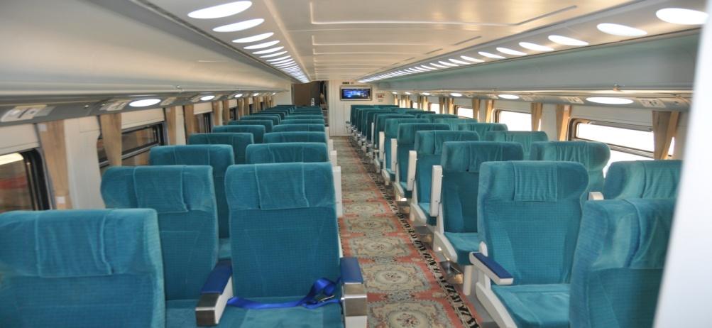 معرفی قطارهای حومه ای - واگنهای ۲ طبقه چینی