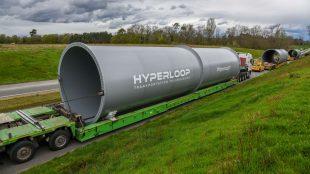 اولین کپسول مسافری هایپرلوپ در مقیاس واقعی ساخته شد
