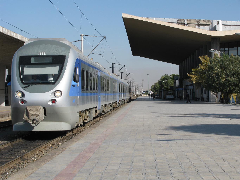 برنامه حرکت قطارهای حومه ای راه آهن آذربایجان/زمستان۹۹
