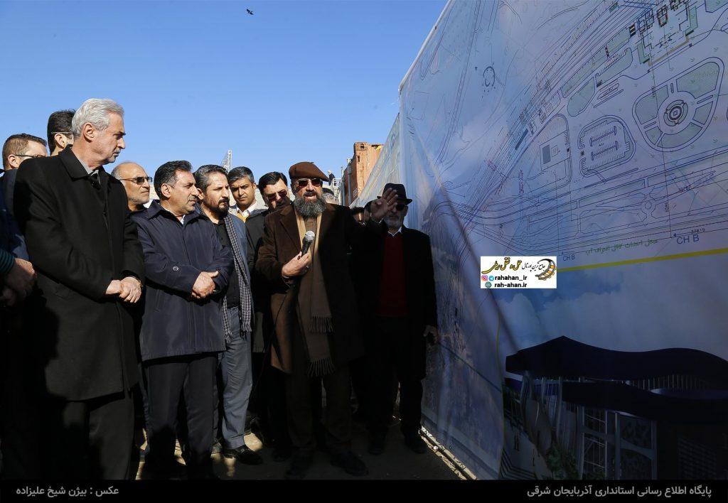 عملیات اجرایی احداث ایستگاه راه آهن خاوران آغاز شد