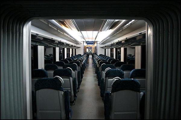 قطار حومه ای مرهم هوای آلوده نشده است