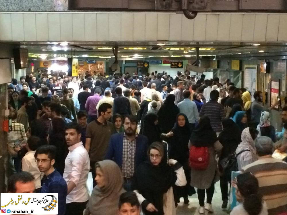 استقبال ميليوني بازديدكنندگان نمايشگاه بين المللي كتاب از دو ايستگاه مترو تهران