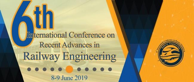 ششمین کنفرانس بین المللی پیشرفتهای اخیر در مهندسی راه آهن