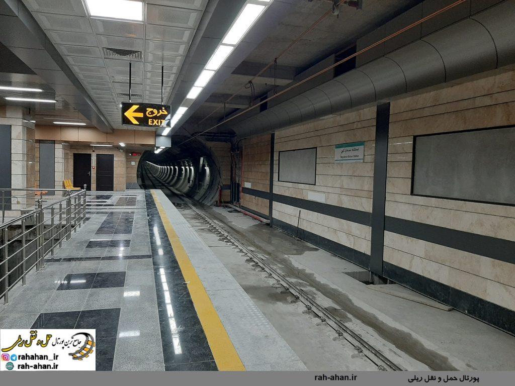 افتتاح 4 ایستگاه جدید خط یک مترو تبریز