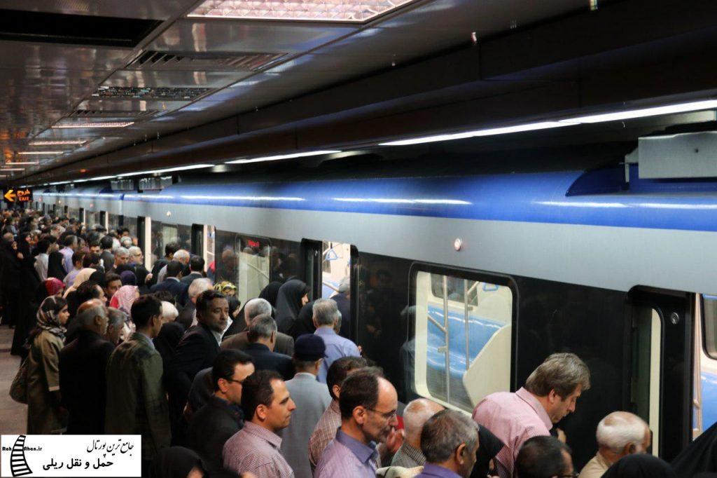 افزایش 40 درصدی مسافران مترو تبریز