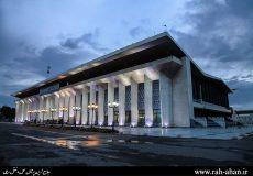 صدای پای بهار در ایستگاه راه آهن تبریز