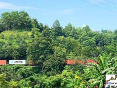 راه اندازی اولین قطار کانتینری از ویتنام به اروپا
