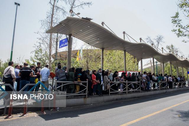فرسودگی یک چهارم ناوگان اتوبوسرانی پایتخت
