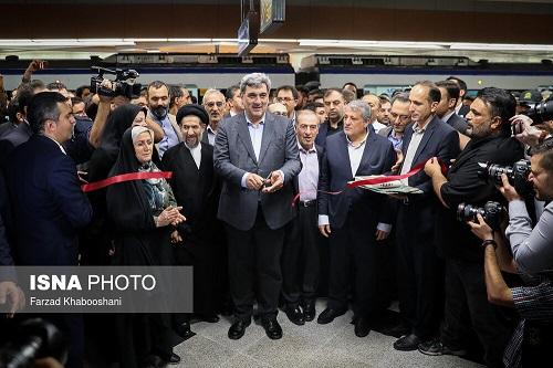 افتتاح رسمی ایستگاه مترو امام حسین(ع) خط ۶ مترو تهران