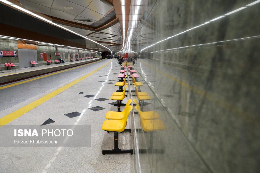 فعالیت مجدد متروی کلانشهر ها پس از محدودیت های پاییزی کرونا