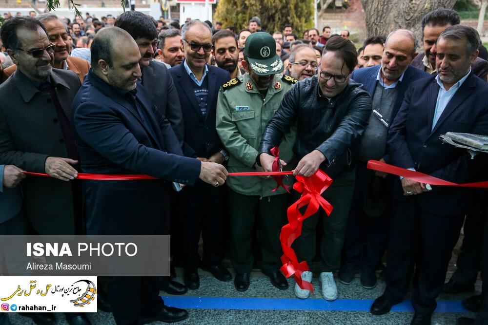 افتتاح ایستگاه کوهسنگی خط 2 قطار شهری مشهد