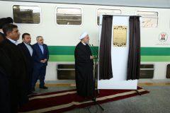 افتتاح قطار برقی گلشهر به هشتگرد توسط رئیس جمهور