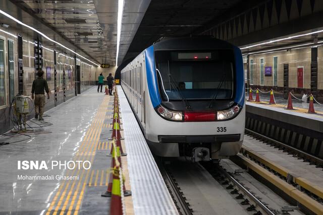 افتتاح ایستگاه مترو برج میلاد و امیرکبیر با دستور رییس جمهور