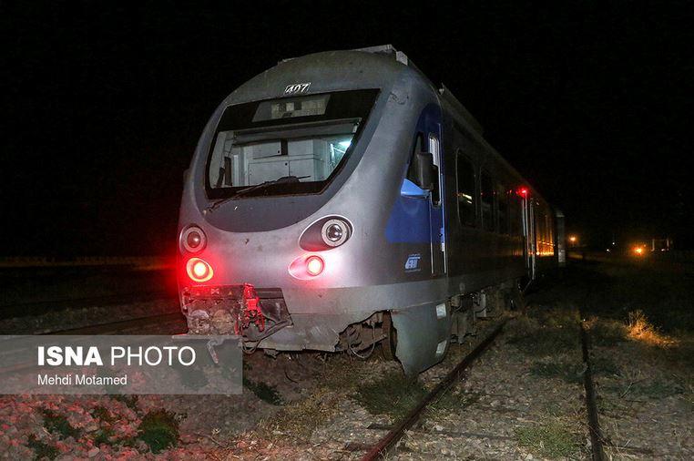 حادثه قطار زنجان-تهران به خیر گذشت