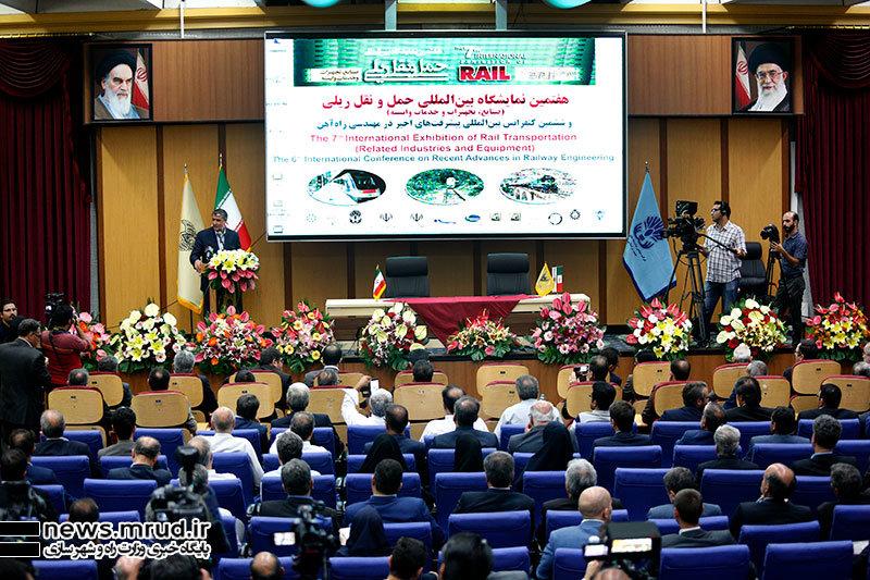 سخنرانی محمد اسلامی وزیر راه و شهرسازی در آیین افتتاح هفتمین نمایشگاه بین المللی حمل و نقل ریلی