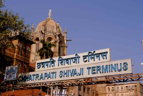 پایانه چاتراپاتی شیواجی شهر بمبئی