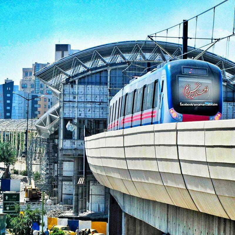 مشخصات خطوط مترو تبریز