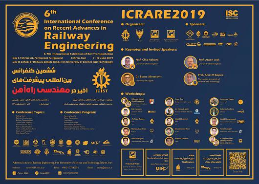 ششمین کنفرانس بین المللی پیشرفت های اخیر در مهندسی راه آهن