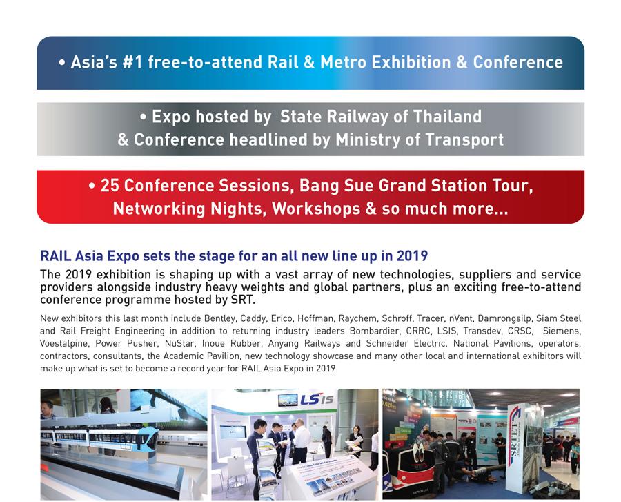 گزارشی از نمایشگاه ریل - آسیا در سال 2018 | RAIL ASIA 2018 Exhibition