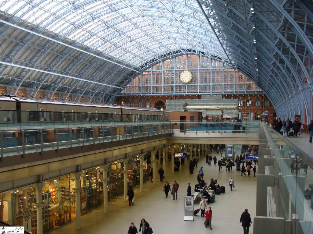 ایستگاه سنت پانکراس اینترنشنال لندن
