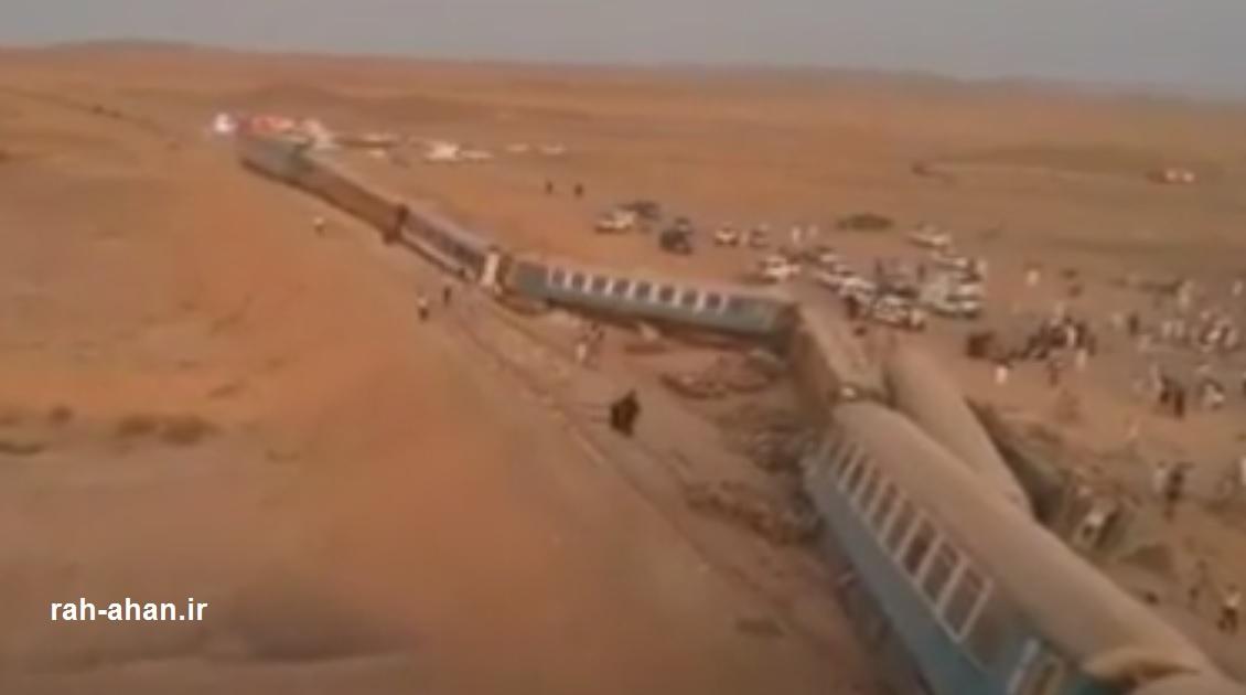 علت حادثه قطار زاهدان – تهران مشخص شد