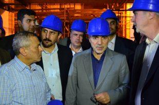 خبر خوش نوبخت در بازدید از پروژه قطارشهری تبریز
