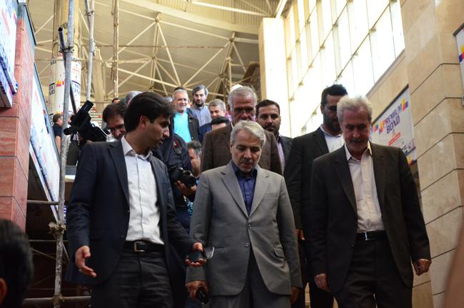 گزارش تصویری بازدید دکتر نوبخت از پروژه قطارشهری تبریز