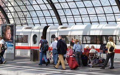 پرتراکم ترین شبکه های راه آهن اروپا کدامند؟