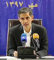 سعید محمدزاده مدیرعامل راه آهن در نشست خبری با خبرنگاران بازار سرمایه