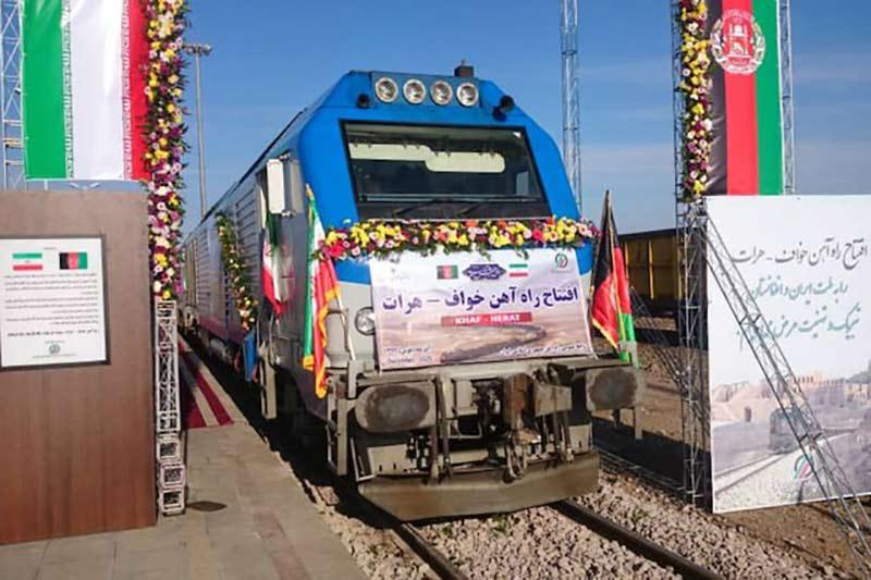 افتتاح راه آهن خواف – هرات