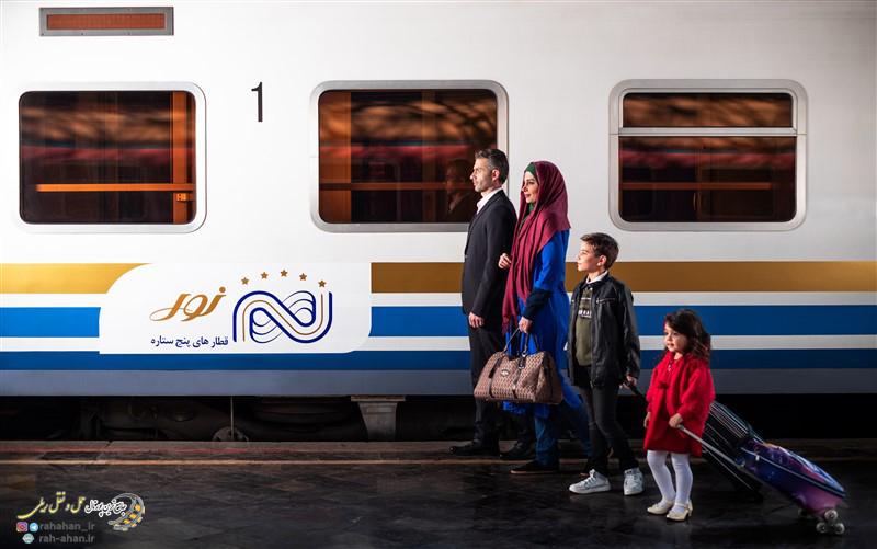 معرفی قطارهای 5 ستاره نور