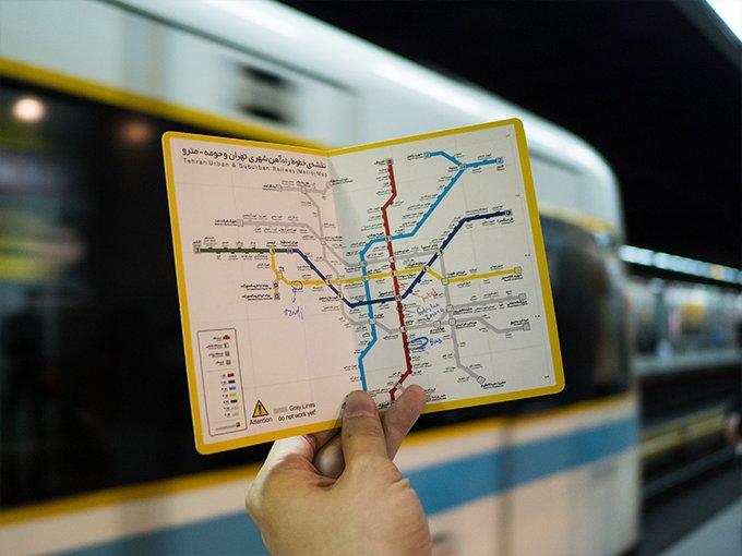 ارائه کد ملی برای خرید و شارژ بلیت مترو الزامی شد