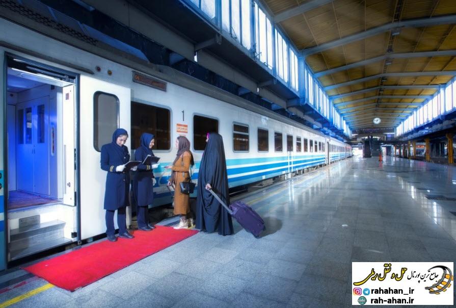 برنامه حرکت قطار های مسافری تابستان 1400