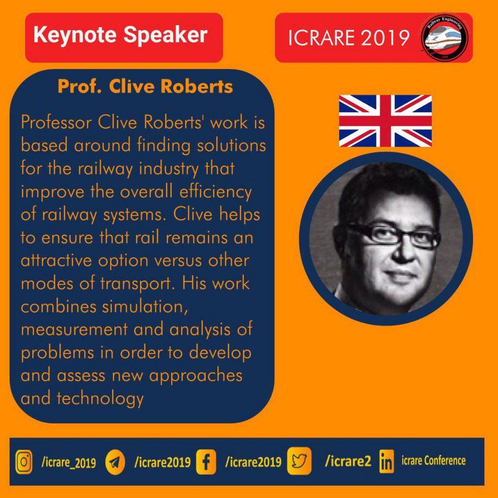 سخنرانان کلیدی ششمین کنفرانس پیشرفت های اخیر راه آهن