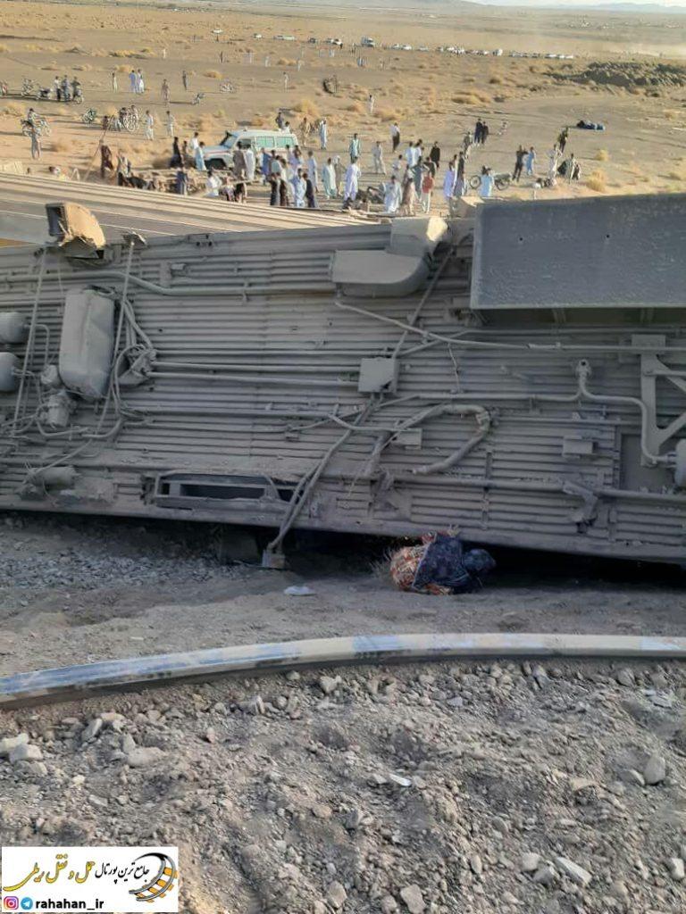 علت حادثه قطار زاهدان - تهران مشخص شد