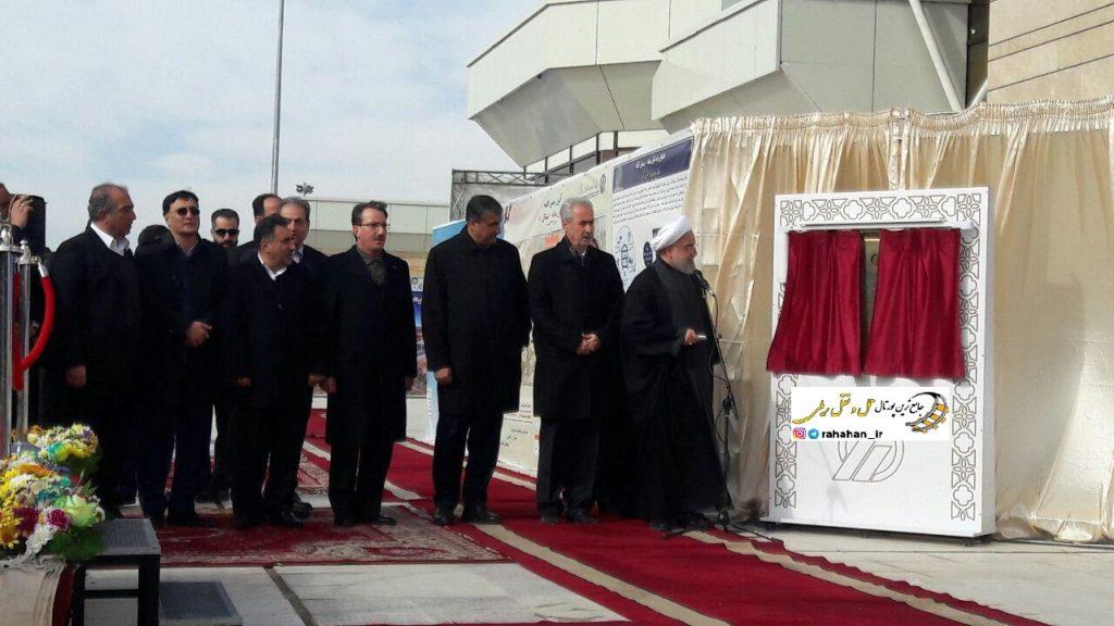 افتتاح راه آهن میانه - بستان آباد با حضور رئیس جمهور/بهره برداری کامل تا پایان سال آینده