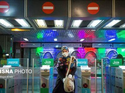 کاهش ساعت کاری مترو و اتوبوس از ۲۰ آبان