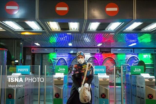 کاهش ساعت کاری مترو و اتوبوس از 20 آبان