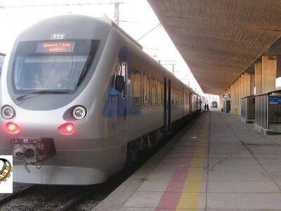 قطار ریل باس تبریز-شهرک صنعتی شهید سلیمی راه اندازی شد