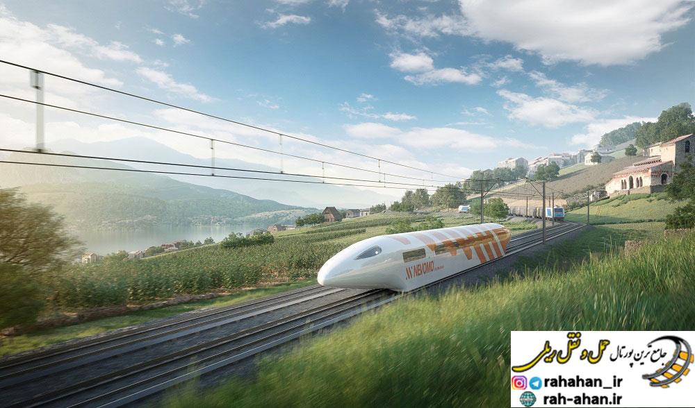 طرحی از قطارهای نوومو-nevomo